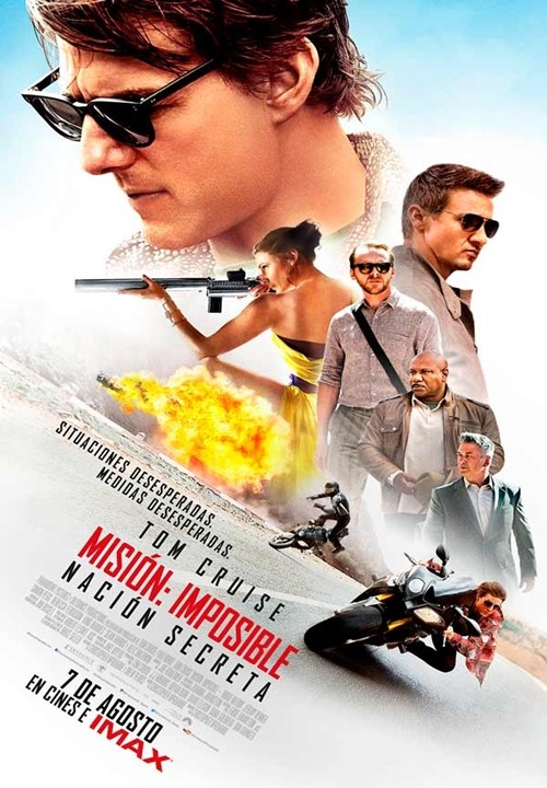 Misión: Imposible – Nación Secreta (2015)