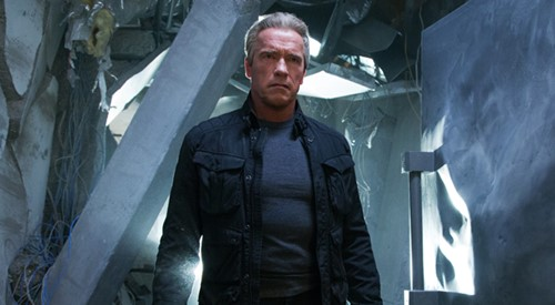 Arnold Schwarzenegger is the Terminator in TERMINATOR GENISYS, from Paramount Pictures and Skydance Productions.