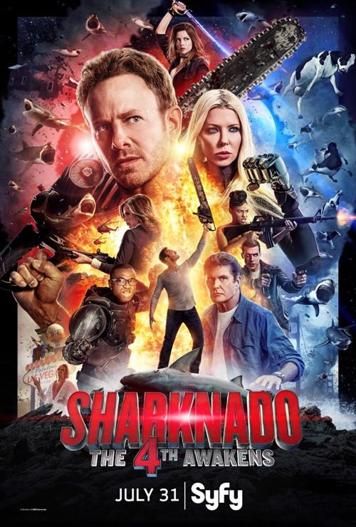 Sharknado: Que la 4ª te Acompañe (2016)