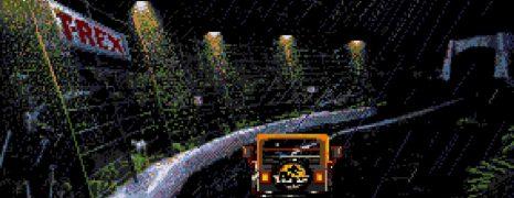 Jurassic Park (1993) (Mega Drive)